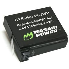 Wasabi Power Replacement Battery (1160mAh) for GoPro HERO4 and GoPro AHDBT-401