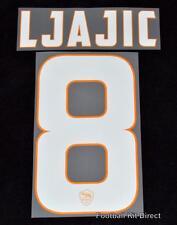 Roma LJajic 8 2014/15 Football Shirt Name/Name Set Kit Home Serie a