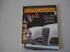 RUOTECLASSICHE 11/2000 A 112 ABARTH/ALFA ROMEO 1900/RLSS/ISO DIVA/PEUGEOT 202