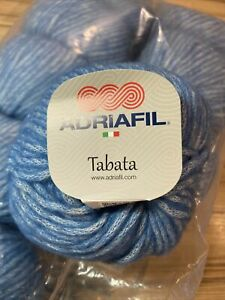 Tabata Chunky Yarn By Adriafil 100% Wool 9 X  50g Balls (no 16)