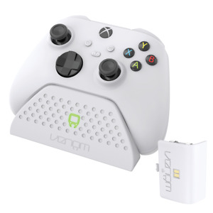 Venom Xbox Series X / S Charging Dock with Rechargeable Battery Pack - White