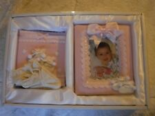 New Child of god Girls infant Frame and Photo Boot With Booties