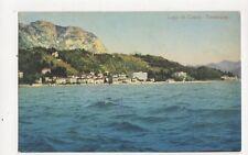 Lago di Como Tremazzo 1924 Postcard 392a