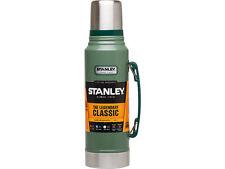 Stanley Classic Vakuum TRINK Flasche 1 Liter 18/8 Edelstahl Hammertone grün