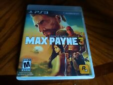 Max Payne 3 (PlayStation 3 PS3) Complete Tested And Excellent