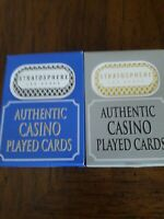 72 Decks(2 Colors)Stratosphere Casino Las Vegas Playing Cards. Used in Casino.