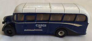 Corgi Bedford OB Coach - Swansea Leicester - Diecast Bus