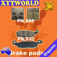 FRONT REAR Brake Pads SUZUKI GS 500 2004 2005 2006 2007 2008