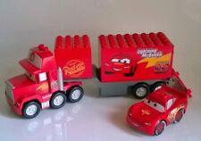 Lego Duplo Cars 6 Autos Mack Finn Lightning Hook Francesco