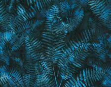 Hoffman Bali Batik Ferns P2020-338 Skipper Cotton Batik Fabric BTY