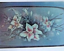 KERRY SMITH 1990 FRAGRANT LILIES OIL STILL LIFE PAINTING PATTERN PACK