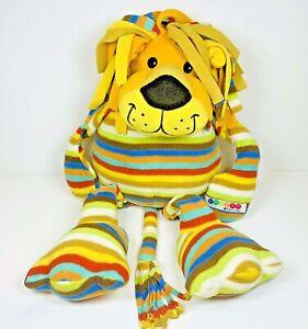 "BeePosh Melissa & Doug Lion Stuffed Animal Toy Plush Elvis LARGE colorful  24"""