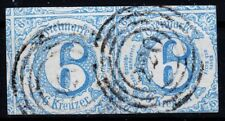 == AD Thurn&Taxis Mi. 33 IAgest. Paar, gepr. BPP, Kat. 100€ ==