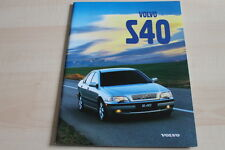 138599) Volvo S40 Prospekt 02/1998