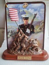"""Iwo Jima"" Usmc Commemorative Plate"