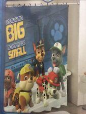 "Nickelodeon Paw Patrol Fabric Shower Curtain 72"" X 72"" (183 cm X 183 cm)"