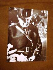 Bologna Inventore Gugliemo Marconi in divisa fascista Convegno di radioindustria