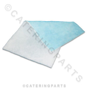 PAINT SHOP CAR SPRAY BOOTH AIR FILTER MATERIAL EXTRACTION PANEL / EXTRACT SUPPLY