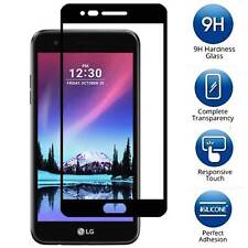 LG Phoenix 3 [FULL COVER] Tempered Glass Screen Protector Guard Shield Cover
