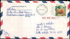 Cayman Islands #566 George Town to Seattle WA, 1990