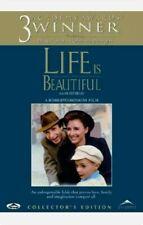 Life Is Beautiful (Dvd, 2010) (Collector's Edition) Nicoletta Braschi