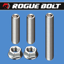 Sbc Bbc Thermostat Housing Stud Kit Bolts Stainless Kit Small Big Block Chevy Gm