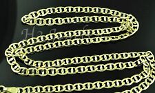 14k solid yellow gold gucci mariner chain necklace  8.40 grams #3482 22 inch
