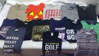 Mens top medium M shirt mixed lot 14 wholesale graphic Tommy hilfiger x74