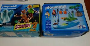 Playmobil 70287 Scooby Doo Scooby And Shaggy With Ghost/70035 Kayak Adventure st
