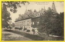cpa 51 - LE GAULT SOIGNY (Marne) Le CHÂTEAU du RECOUDE vu du Parc