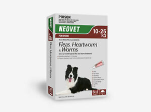 NEOVET for Dogs (Generic Advocate) 10 to 25kg - [6 pack]