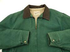 Woolrich Field Jacket Barn Coat Mens Size XL USA Made Sherpa Sherpa Lined Heavy