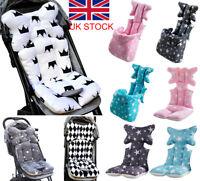 Baby Newborn Car Seat Stroller Liner Cushion Mat Pushchair Cotton Warm Pad Cover