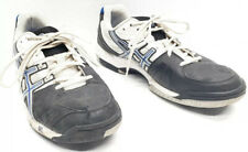 Asics Gel Game 4 E306Y Men's Sneakers Shoes Size 12 White Blue Black Gray