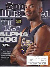 Kobe Bryant Sports Illustrated + Beckett NBA January 2012 Price Guide #236