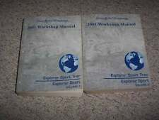 2001 Ford Explorer Sport Trac Crew Cab Factory Shop Service Repair Manual Set