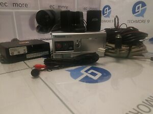 PANASONIC ARBITRATOR 360 AG-CK10P DASH CAMERA WITH SOME WIRES AND CABLES