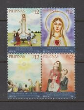 Philippine Stamps 2017 Our Lady of Fatima Apparitions 100 Years Ann. MNH