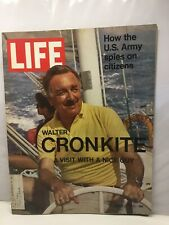 Life - March 26, 1971 Walter Cronkite, How The US Army Spies On Citizens
