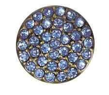 """Buy 4, Get 5Th $6.95 Snap Free Ginger Snapsâ""""¢ Brass Ritzy-Lt Sapphire Jewelry -"""