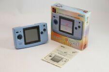 Neo Geo Pocket Color - console #Platinum Blue JAPAN CIB, boxed great condition