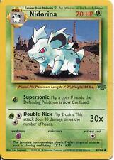 Pokemon Jungle Uncommon Card #40/64 Nidorina