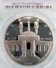 1984-S SILVER $1 Olympic PCGS PR70DAM Commemorative 💥