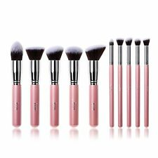 Jessup 10pcs Makeup Brushes Set kabuki Foundation Brushes Tools US