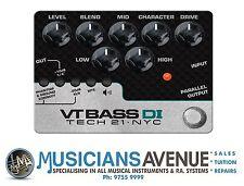 Tech 21 310089 Character Series VT Bass Di Guitar Accessories
