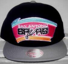 San Antonio Spurs Mitchell and Ness Snapback Hat