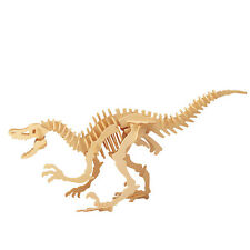 New Balsa Wood 3D Puzzle Educational Toy Assembly Dinosaur Apatosaurus Gifts