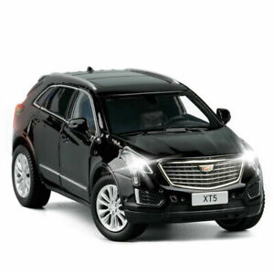 1:32 Cadillac XT5 SUV Off-road Model Car Alloy Diecast Toy Vehicle Gift Black