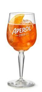 6 Aperol Spritz 1919 Glas Gläser Stielglas Weinglas Apparativ Cocktailglas NEU