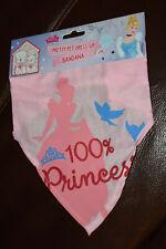 DISNEY PRINCESS PET BANDANA - Cinderella, cat, dog, pink, medium - new